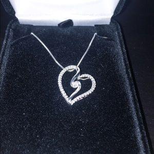 Kay Heart Diamond Necklace